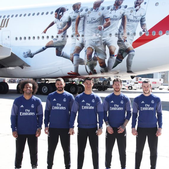 Emirates new livery real madrid